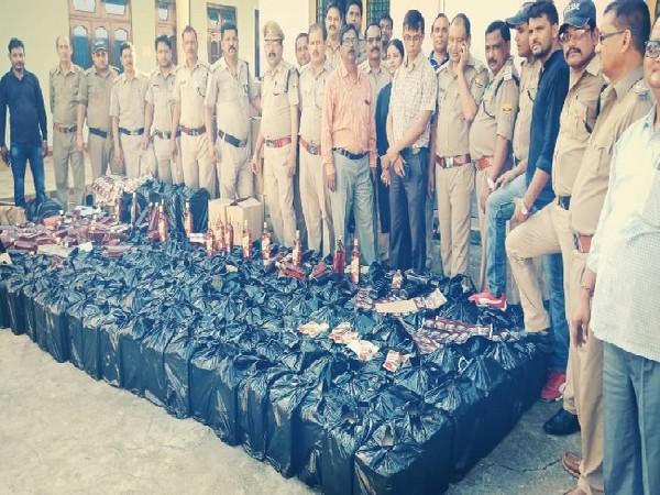 Illicit liquor seized in Udham Singh Nagar, Uttarakhand