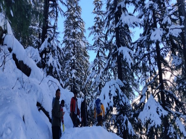 Heavy Snowfall in Uttarakhand's Uttarkashi town over the weekend has brought an influx of tourists