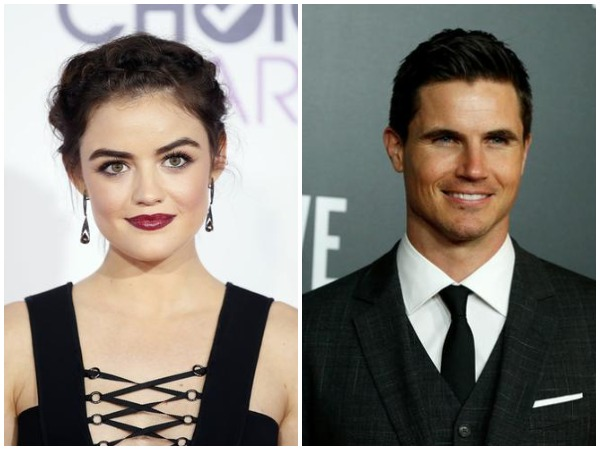Lucy Hale and Robbie Amell