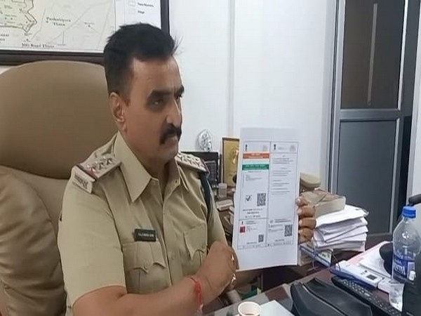 Banganga Police Station in-charge Rajendra Soni. (Photo/ANI)