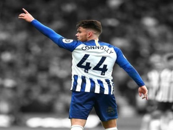 Brighton's forward Aaron Connolly (Photo/ Aaron Connolly Twitter)