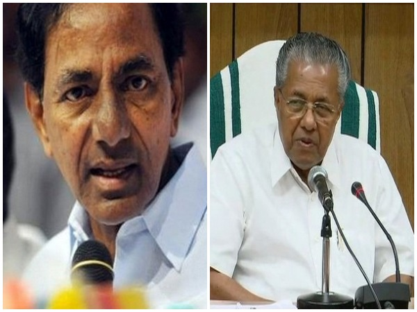 Telangana CM K Chandrasekhar Rao / Kerala CM Pinarayi Viajayan (File photo)