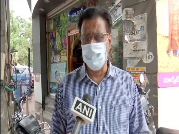 BJP spokesperson NV Subash (Photo/ANI)