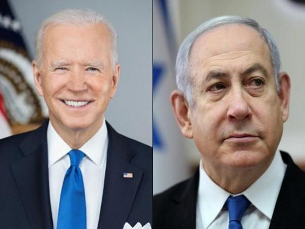 US President Joe Biden and Israel Prime Minister Benjamin Netanyahu