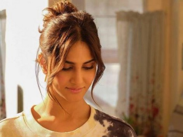 The picture shared by Vaani Kapoor from upcoming film 'Chandigarh Kare Aashiqui' (Image Source: Instagram)