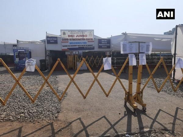 Visuals from  BKC jumbo COVID-19 vaccination center in Mumbai. (Photo/ ANI)