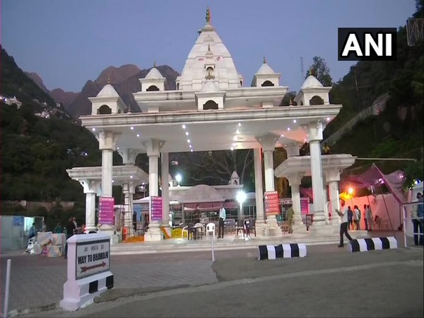Special arrangements have been made at Mata Vaishno Devi for Navratri (Photo/ANI)