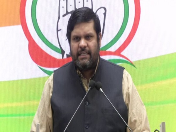 Congress spokesperson Gourav Vallabh speaking to media on Wednesday.