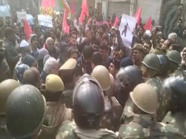 Visuals from protest in Varanasi, Uttar Pradesh on December 19. (file photo)