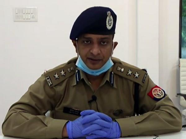 Senior Superintendent of Police (SSP), Varanasi Amit Pathak
