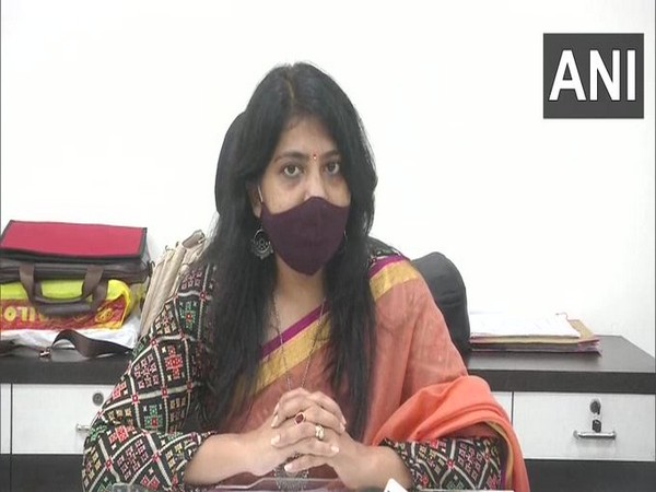 Vadodara District Collector Shalini Agrawal speaks to ANI on Saturday. [Photo/ANI]
