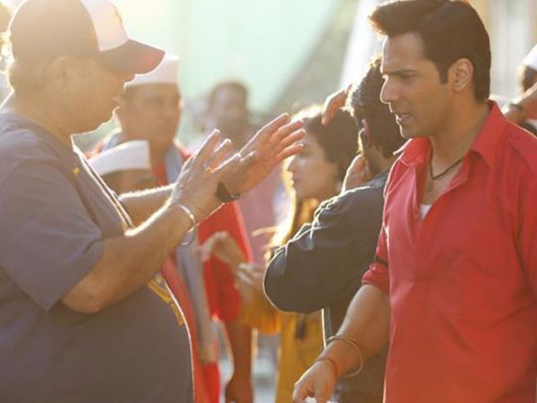 David Dhawan, Varun Dhawan (Image courtesy: Instagram)