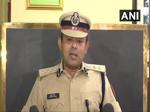 DCP New Delhi District and PRO Delhi police Madhur Varma addressing media persons inNew Delhi on Monday