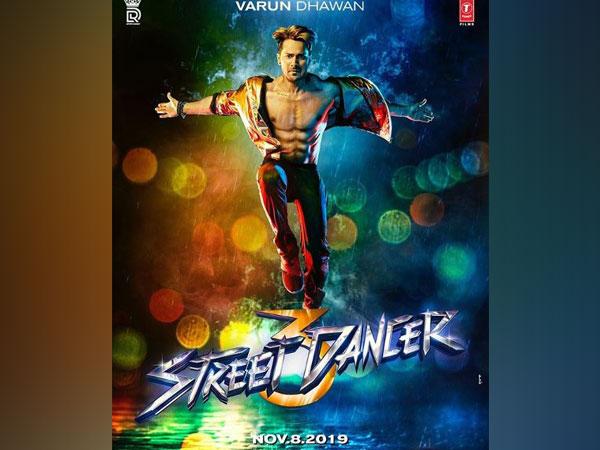 Varun Dhawan in 'Street Dancer' poster, Image courtesy: Instagram