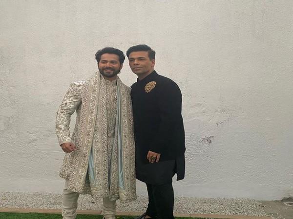 Varun Dhawan and Karan Johar, Image courtesy: Instagram