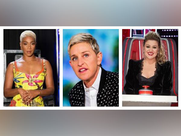 Tiffany Haddish, Ellen DeGeneres, Kelly Clarkson (Image Source: Instagram)