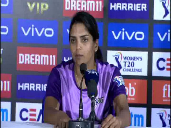 Indian player Veda Krishnamurthy
