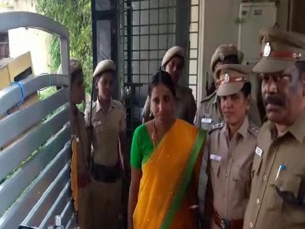 Nalini Sriharan was sentenced to life imprisonment in the Rajiv Gandhi assassination case. (File Photo/ANI)