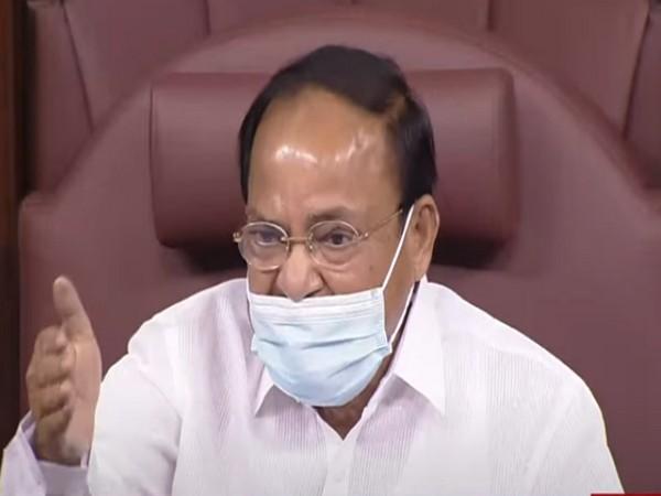 Rajya Sabha Chairman M. Venkaiah Naidu (File Photo/ANI)