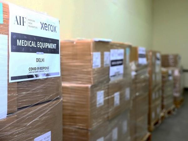 30,000 Ventilators and 13000 monitors land in India - #AIFCOVID19Response