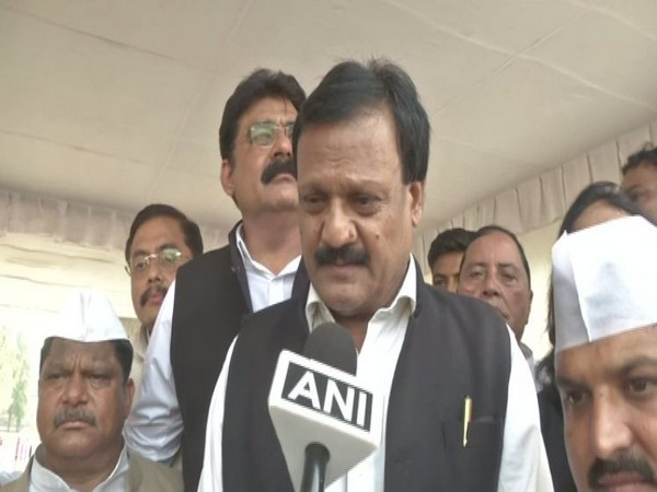 Congress leader Sajjan Singh Verma speaking to ANI in Bhopal on Wednesday. Photo/ANI