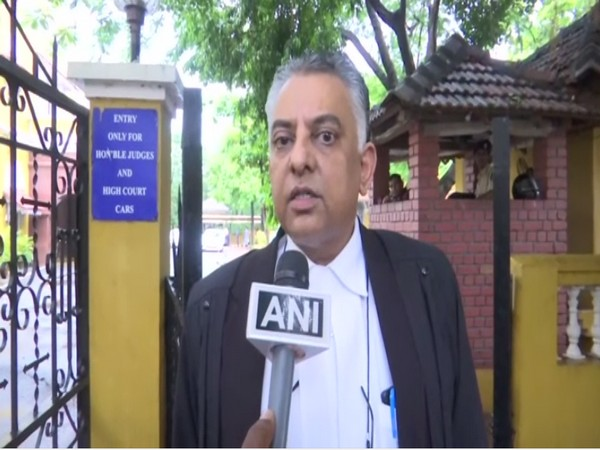 Lawyer Vikram Varma speaking to ANI on Friday.