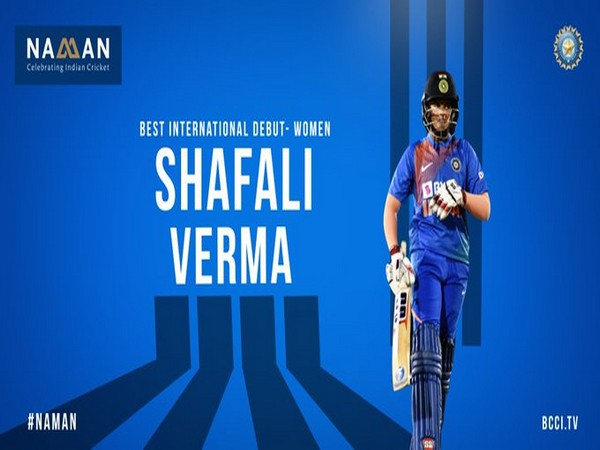 India openeing batsman Shefali Verma (Photo/BCCI Twitter)