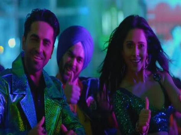 A still from the song