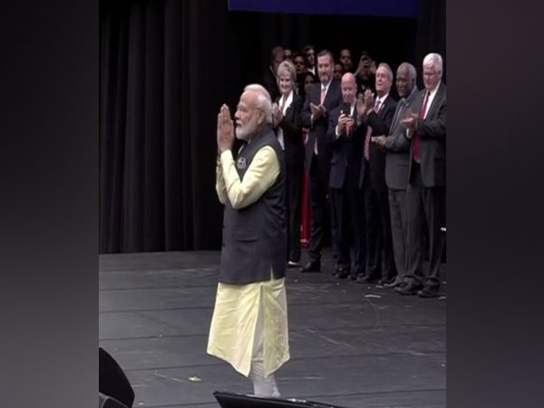 Prime Minister Narendra Modi at 'Howdy Modi!'