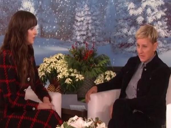 Dakota Johnson and Ellen DeGeneres (Image Courtesy: Instagram)