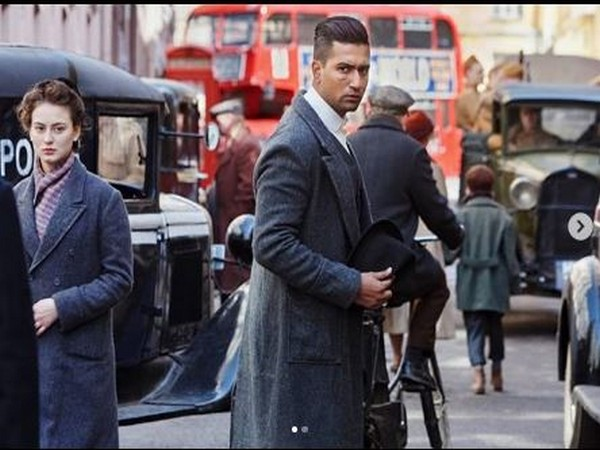 First look of Vicky Kaushal from 'Sardar Udham Singh', Image courtesy: Instagram