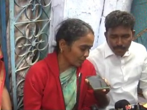 The victim's mother speaking over phone.