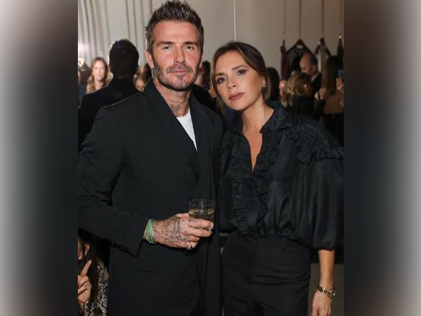 David and Victoria Beckham (Image courtesy: Instagram)
