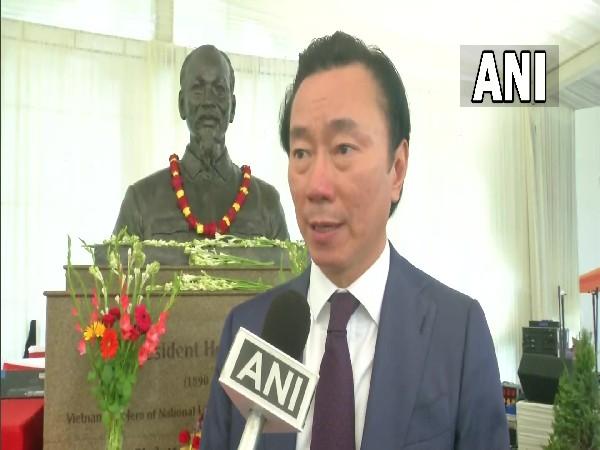 Vietnam's envoy to India Pham Sanh Chau.