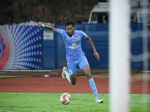 Mumbai City FC's Vignesh Dakshinamurthy (Image: Mumbai City FC)