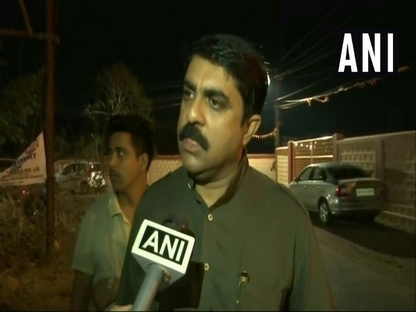 Goa Forward Party chief and town and country planning minister Vijai Sardesai while speaking to ANI in Goa on Sunday. Photo/ANI