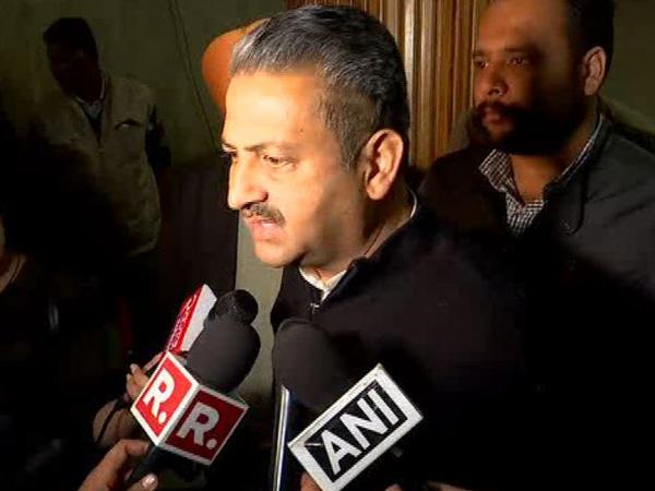 Punjab Cabinet Minsiter Vijay Inder Singla