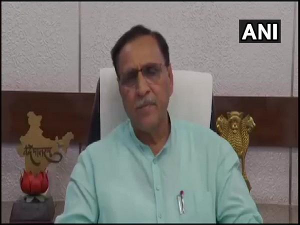 Gujarat Chief Minister Vijay Rupani speaking to ANI