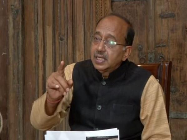 BJP leader Vijay Goel talking to ANI in New Delhi on Sunday