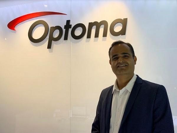 Vijay Sharma, Country Head India, Optoma Corporation