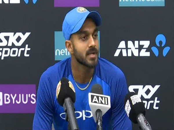 India all-rounder Vijay Shankar (ANI File Image)