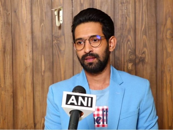 Bollywood actor Vikrant Massey speaking to ANI