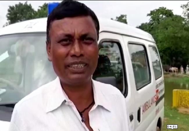 Village head of Potkadih in Jamshedpur speaking to ANI on Sunday.