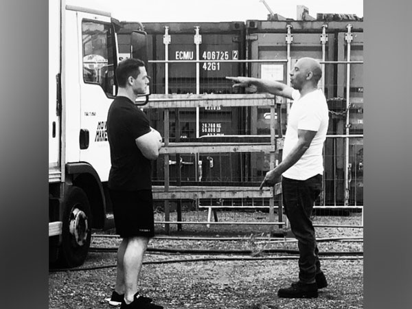 Vin Diesel on the sets of 'Fast and Furious 9' (Image Courtesy: Instagram)