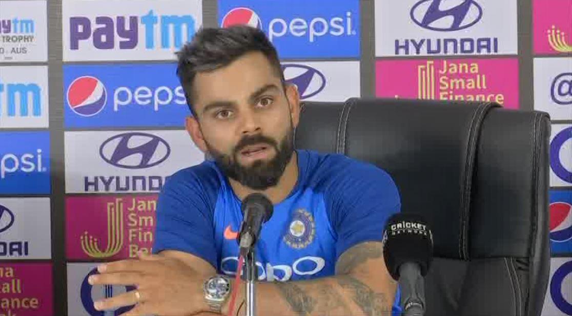 India skipper Virat Kohli on the eve of ODI series against Australia (ANI picture)