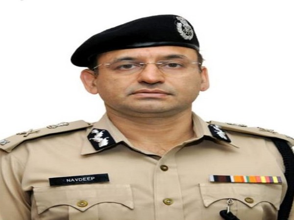 Additional Director General of Police (Law and Order), Navdeep Singh Virk (Photo: ANI)