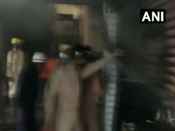 A visual from the fire site (Photo/ANI)