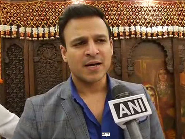 Vivek Oberoi speaking to ANI (photo/ANI)