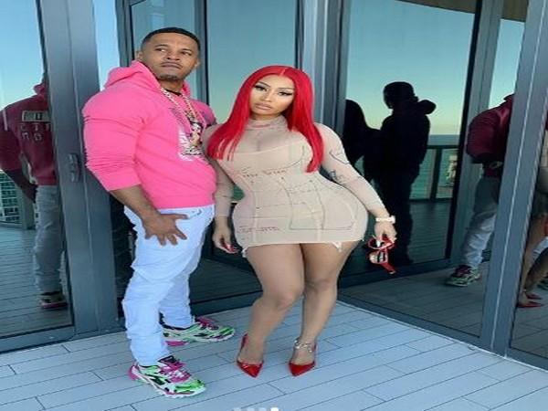 Kenneth Petty and Nicki Minaj (Image courtesy: Instagram)