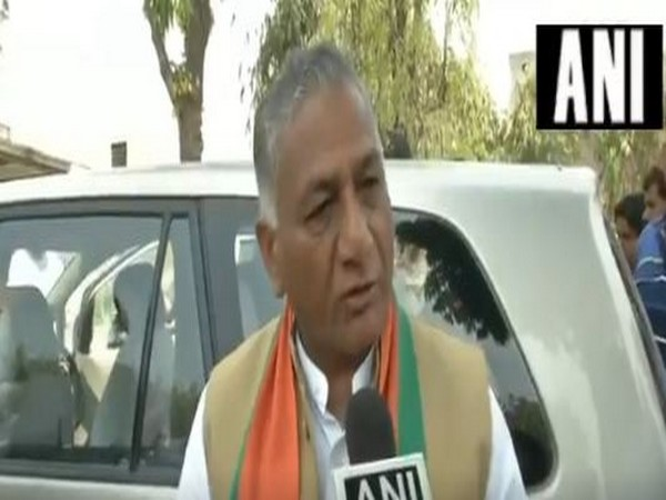 Union Minister of State General VK Singh (File Photo)